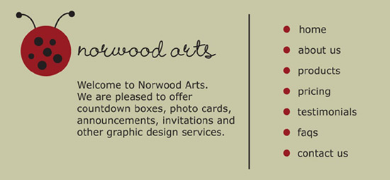 Welcome to Norwood Arts